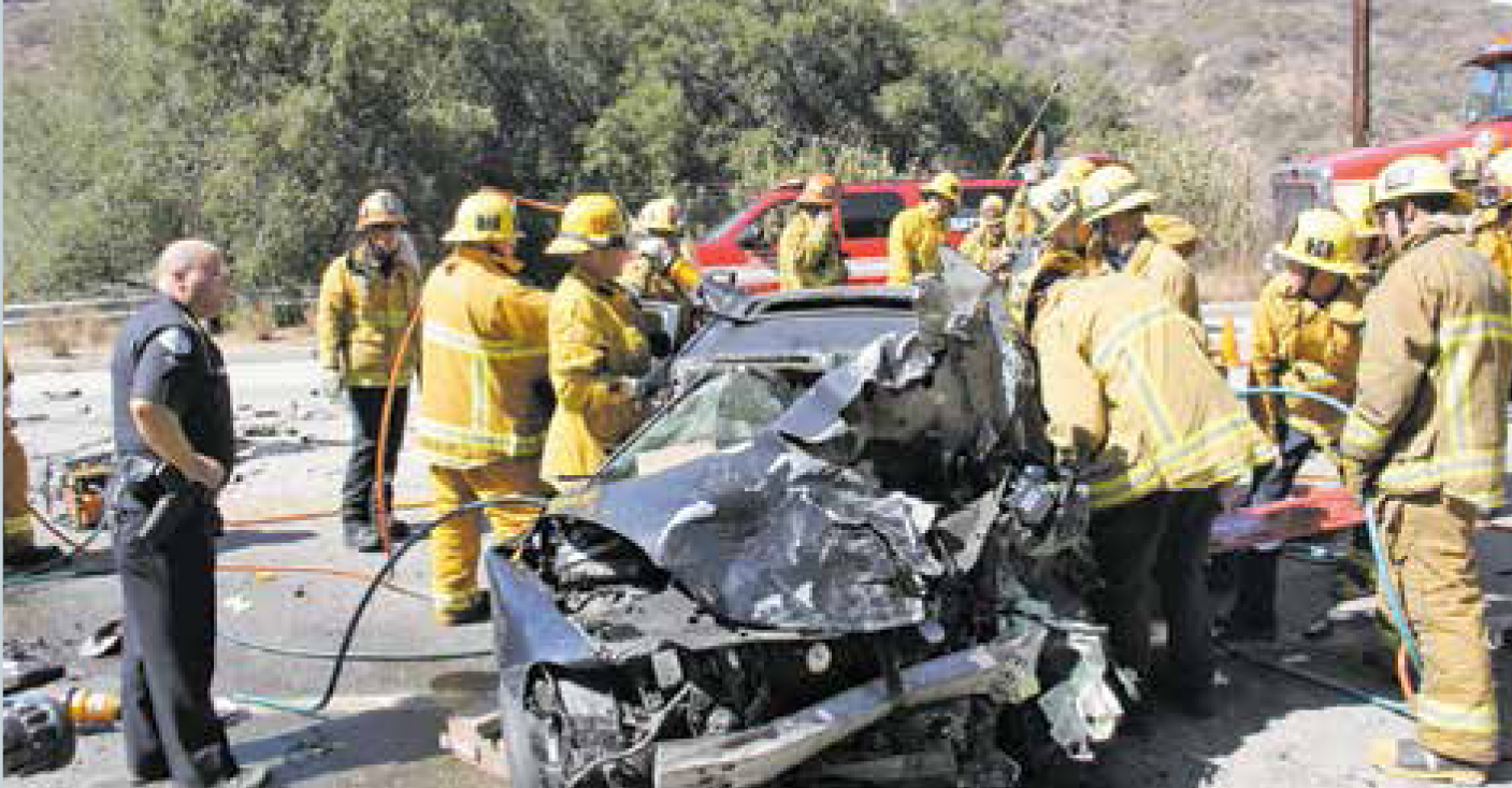 Another Fatality crash on La Tuna Canyon Rd.